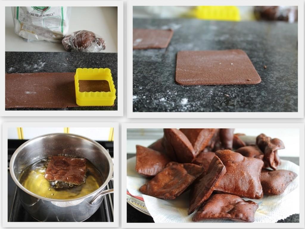 Millefeuille de cannolo sans gluten - La Cassata Celiaca