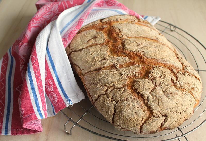 Ciabatta senza glutine con lievito madre - La Cassata Celiaca