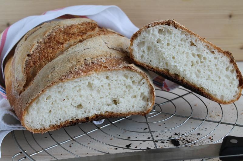 Mon pain pour la semaine, sans gluten - La Cassata Celiaca