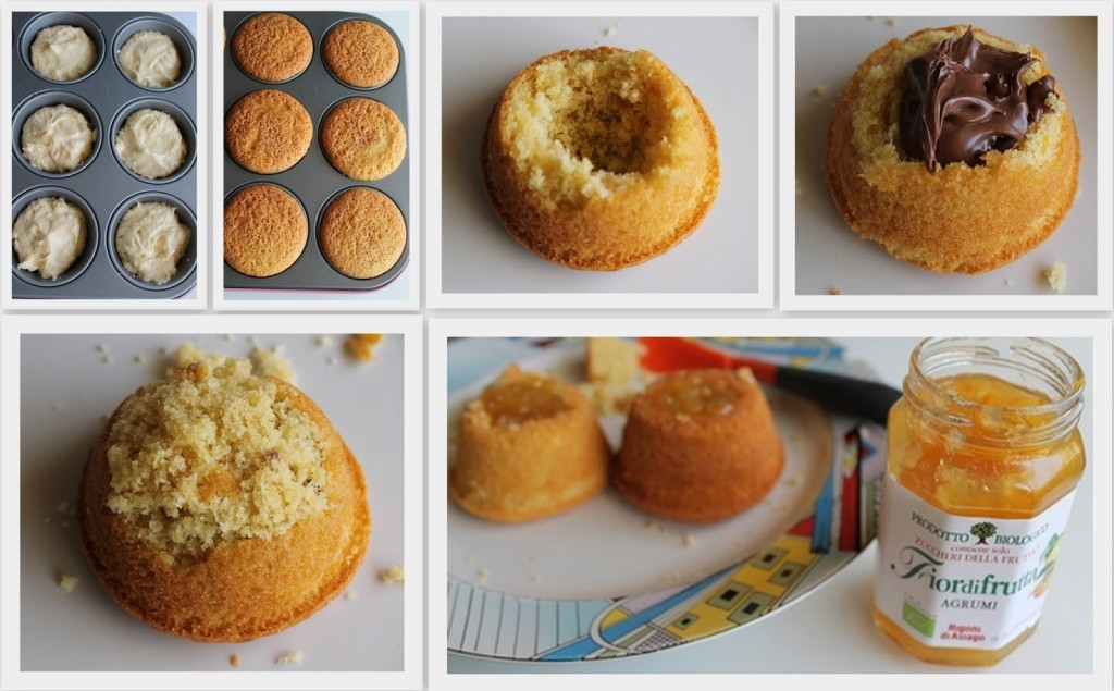 Mini sponge cakes sans gluten - La Cassata Celiaca