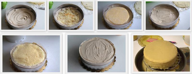 Gâteau Moka sans gluten - La Cassata Celiaca