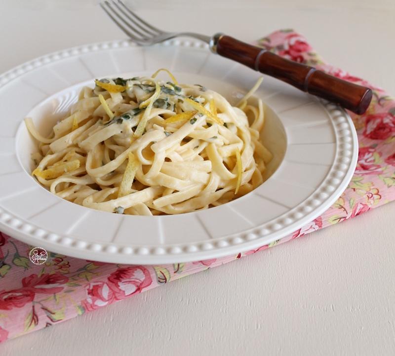 Tagliatelles au citron, sans gluten - La Cassata Celiaca