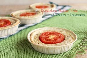 Crostatine gluten free con tonno e pomodori - La Cassata Celiaca