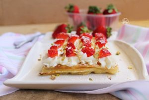 Waffel alla siciliana, senza glutine - La Cassata Celiaca