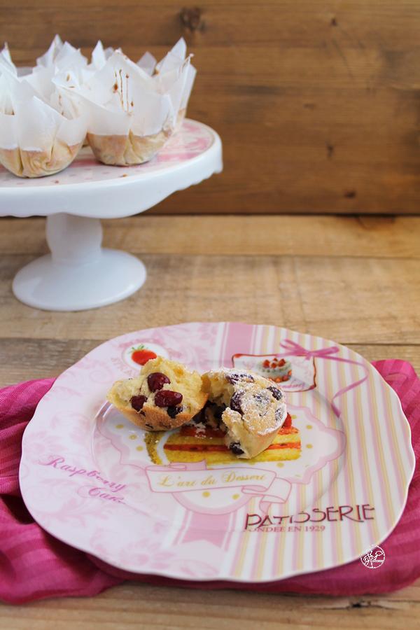 Muffins aux myrtilles sans gluten ni lactose - La Cassata Celiaca