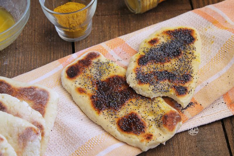 Naan Bread de Jamie Oliver, mais sans gluten - La Cassata Celiaca