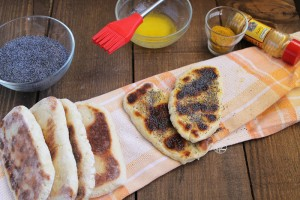 Pane naan di Jamie Oliver, ma senza glutine - La Cassata Celiaca
