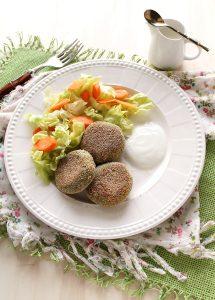 Polpette di salmone e prezzemolo, senza glutine - La Cassata Celiaca
