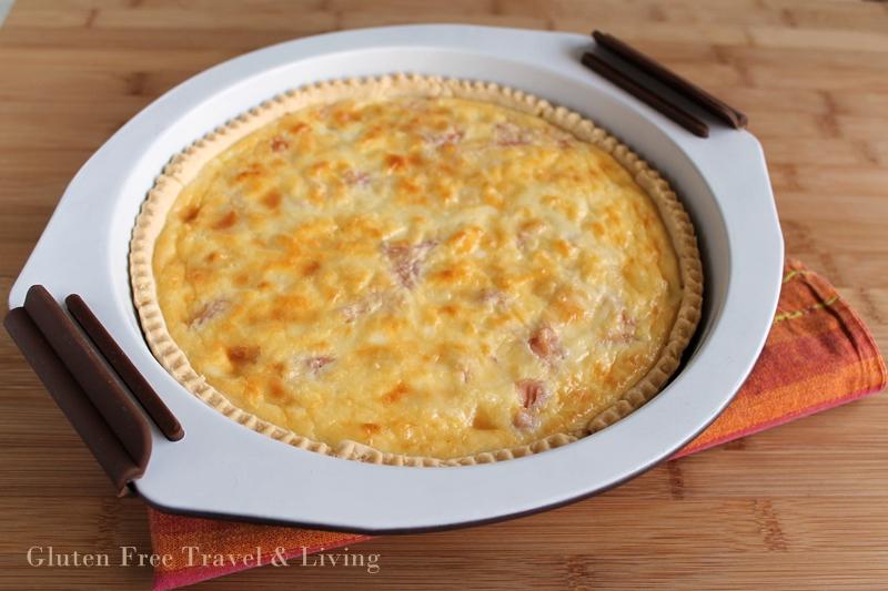 Quiche sans gluten avec jambon et fromage - La Cassata Celiaca