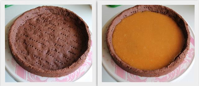 Tarte au caramel et chocolat sans gluten - La Cassata Celiaca