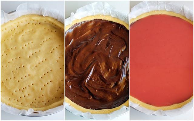 Crostata al gelo di melone - La Cassata Celiaca
