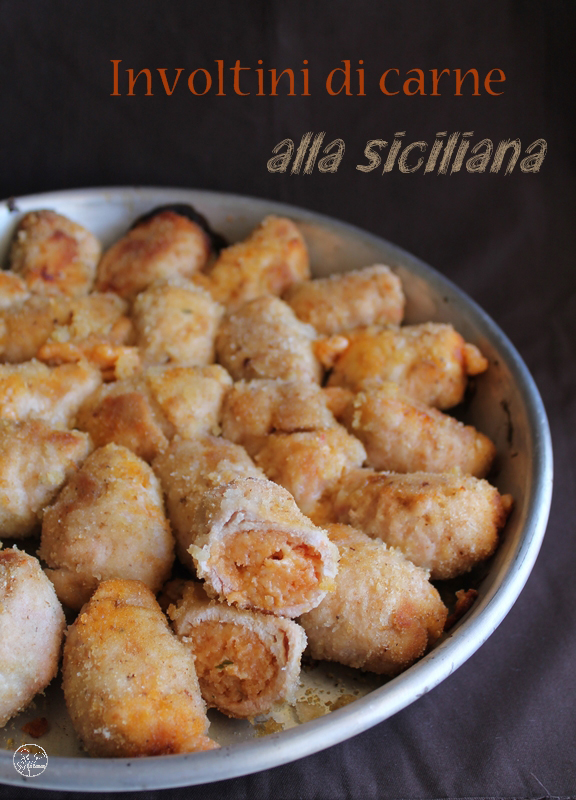 Involtini di carne alla siciliana: la video ricetta - La Cassata Celiaca