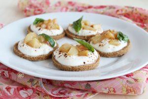 Mini cheesecakes salées sans gluten - La Cassata Celiaca