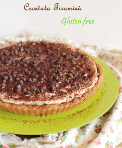 Crostata Tiramisù senza glutine - La Cassata Celiaca