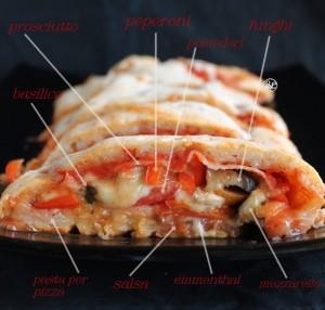 Pizza Stromboli senza glutine - La Cassata Celiaca