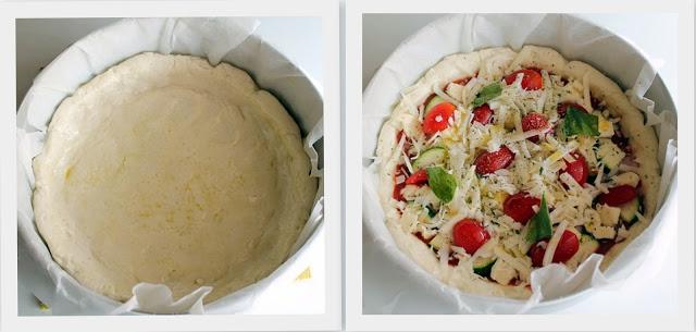 Torta di pizza senza glutine - La Cassata Celiaca