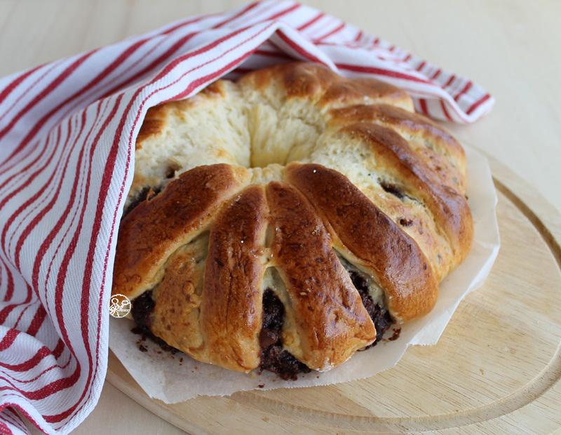 Brioche sans gluten avec crème de noisette - La Cassata Celiaca