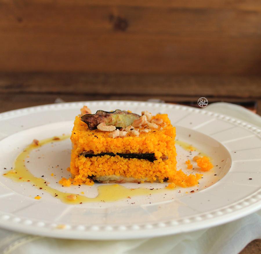 Millefoglie di cous cous e zucchine senza glutine- La Cassata Celiaca