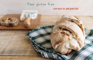 Pane senza glutine con noci e gorgonzola - La Cassata Celiaca