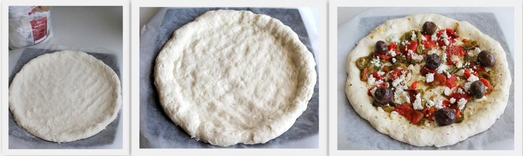 Pizza greca senza glutine - La Cassata Celiaca