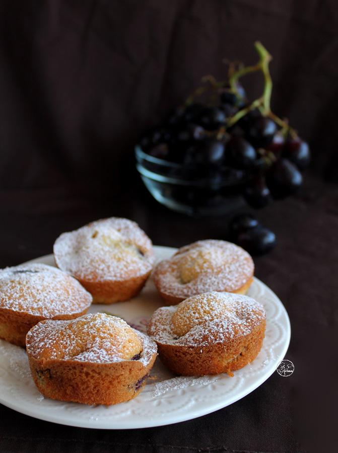 Mini cakes aux raisins sans gluten - La Cassata Celiaca