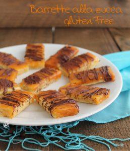 Barres sucrées à la courge sans gluten - La Cassata Celiaca