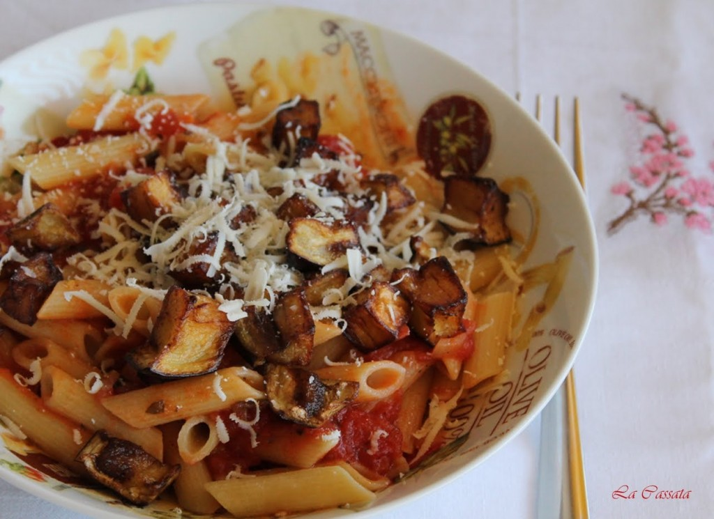Pâtes à la Norma sans gluten, le tutorial - La Cassata Celiaca