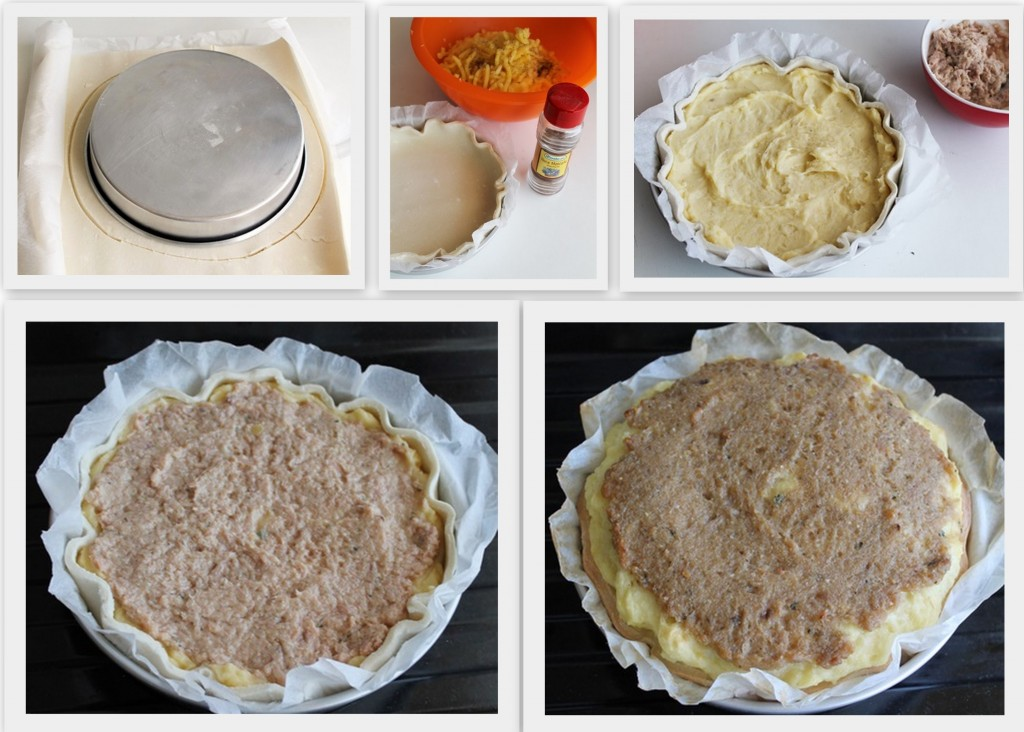 Torta di patate e tonno senza glutine - La Cassata Celiaca