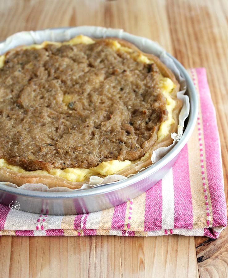 Tarte de pommes de terre et thon sans gluten - La Cassata Celiaca