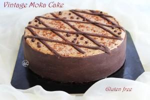 Torta moka classica senza glutine - La Cassata Celiaca