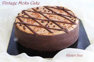Cake moka vintage sans gluten - La Cassata Celiaca