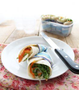 Wrap sans gluten - La Cassata Celiaca
