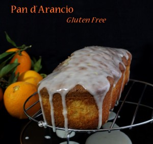 Pan d'arancio senza glutine - La Cassata Celiaca