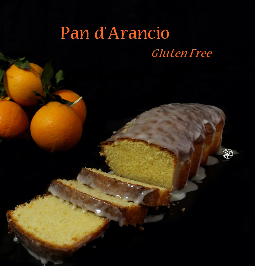 Cake à l'orange sans gluten - La Cassata