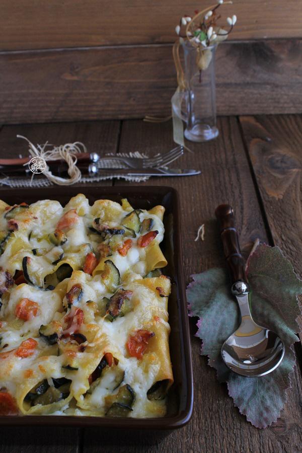 Cannellonis aux légumes sans gluten - La Cassata Celiaca