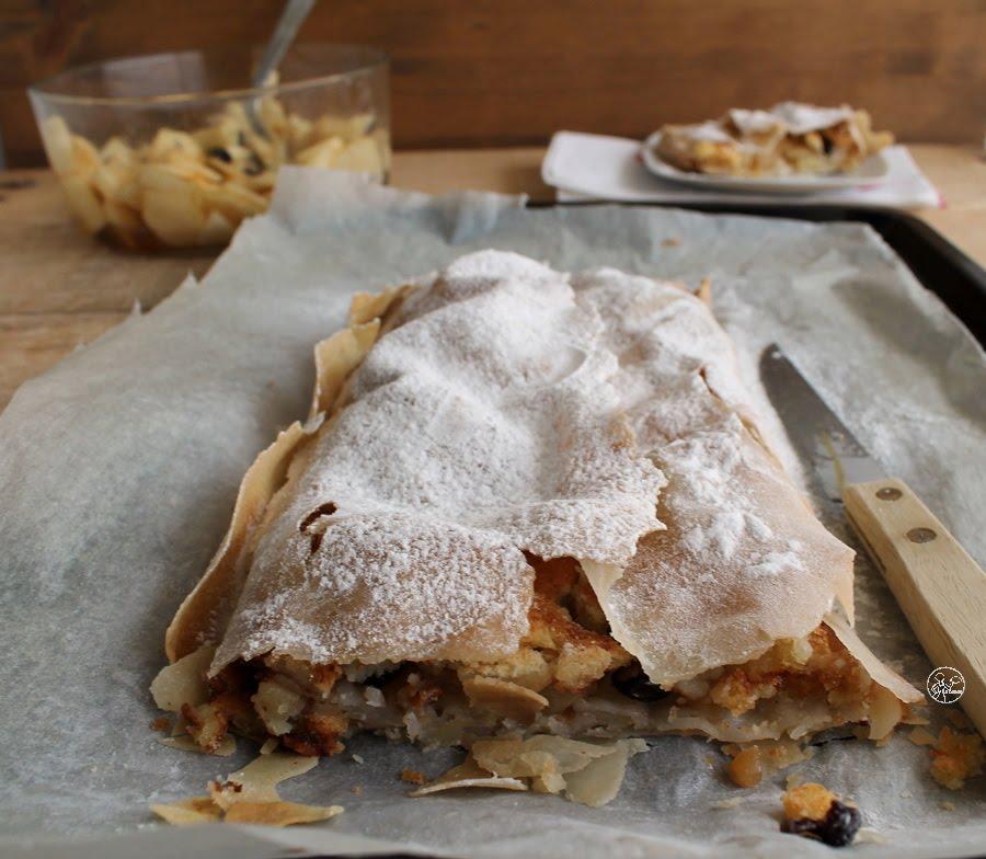 Strudel de pâte filo sans gluten- La Cassata