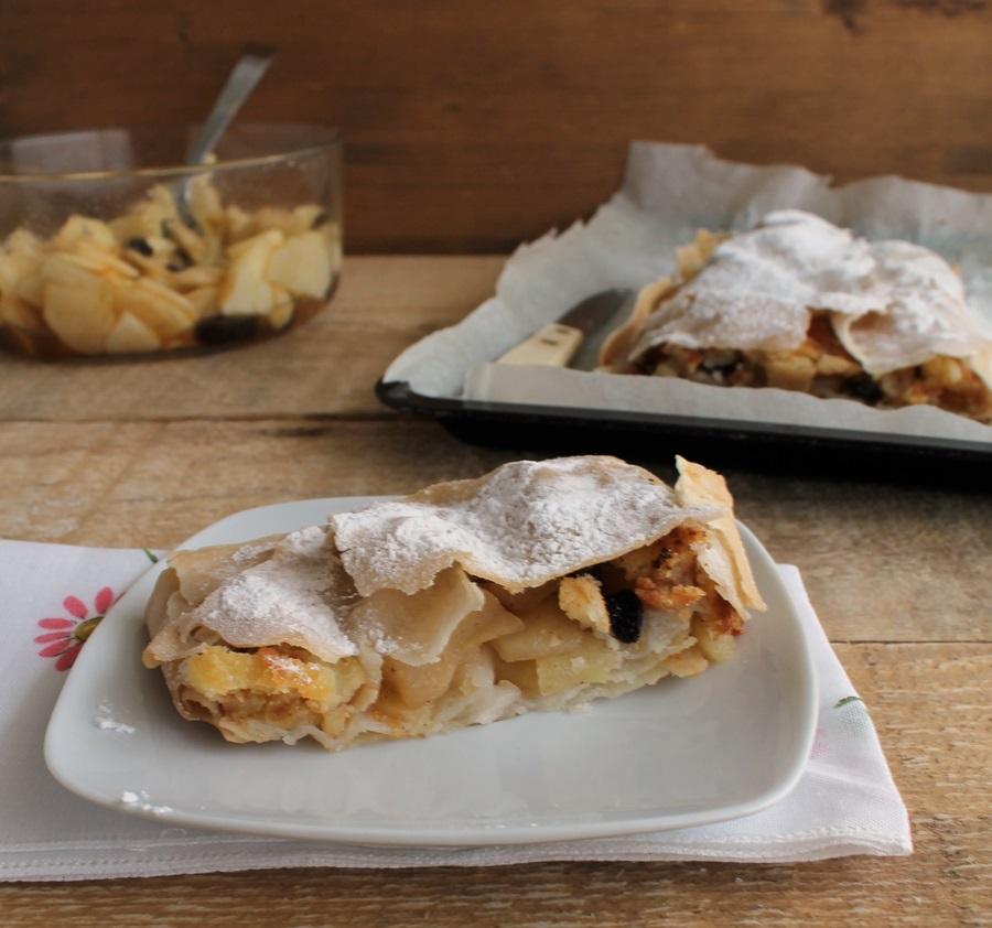 Strudel di pasta fillo senza glutine- La Cassata Celiaca
