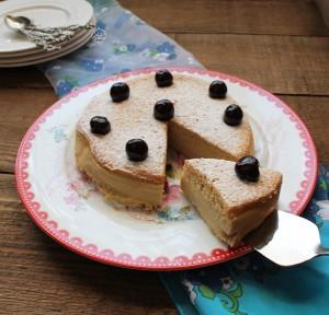 Japanese Cotton Cheesecake sans gluten - La Cassata Celiaca
