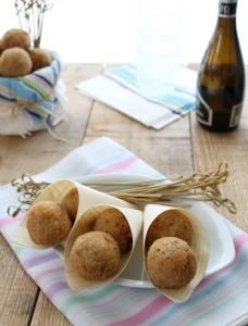 Arancinette con pancetta e carciofi senza glutine - La Cassata Celiaca