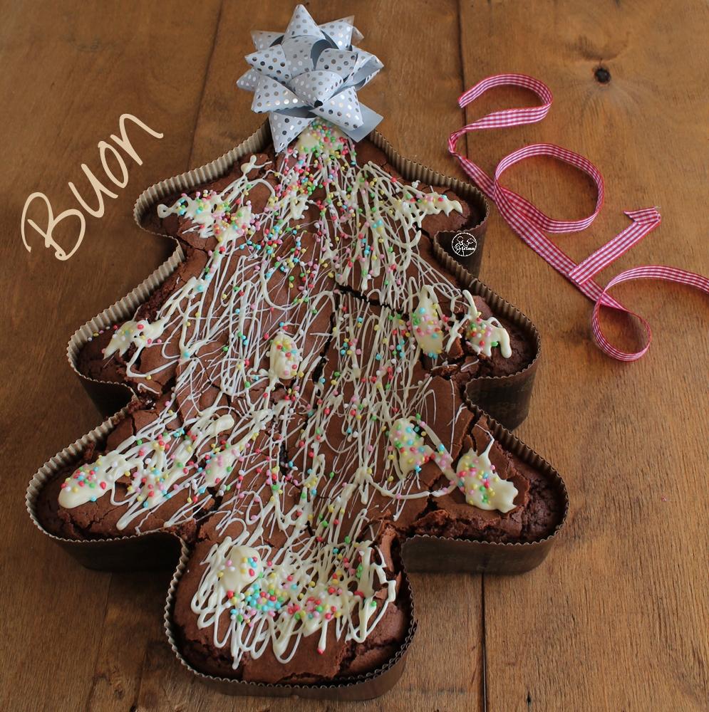 Brownie Tree sans gluten - La Cassata Celiaca