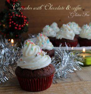 Cupcakes cioccolato e caffè senza glutine - La Cassata Celiaca