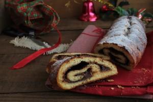 Rotolo di Brioche con crema di cacao e nocciole senza glutine - La cassata celiaca