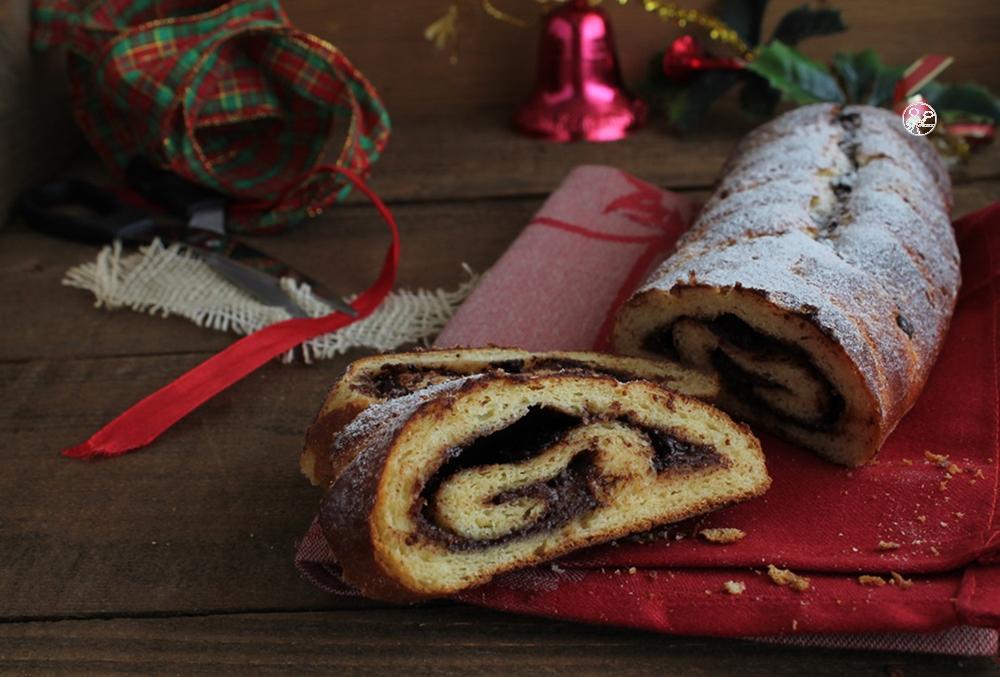 Brioche roulée avec crème de cacao et noisettes sans gluten - La cassata celiaca