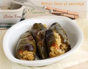 Poivrons, millet, thon et carottes sans gluten - La Cassata
