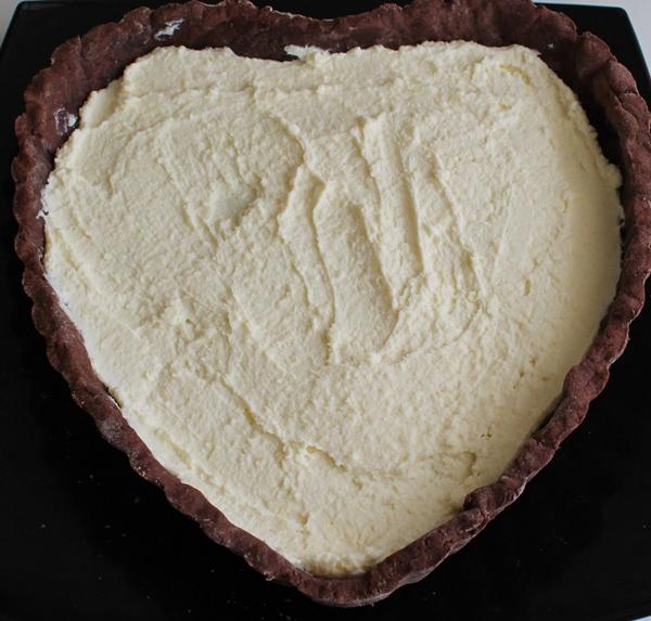 Cœur au chocolat sans gluten - La Cassata Celiaca
