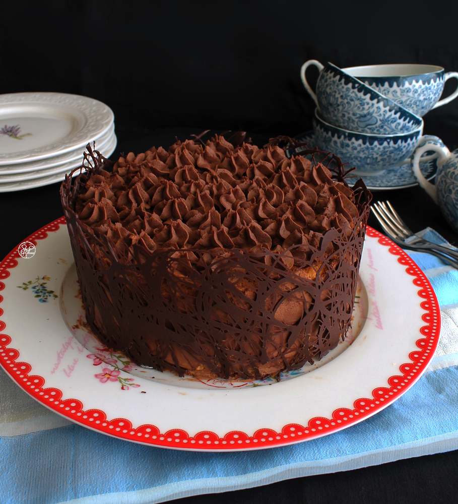 Boston Chocolate Cake gluten free - La Cassata Celiaca