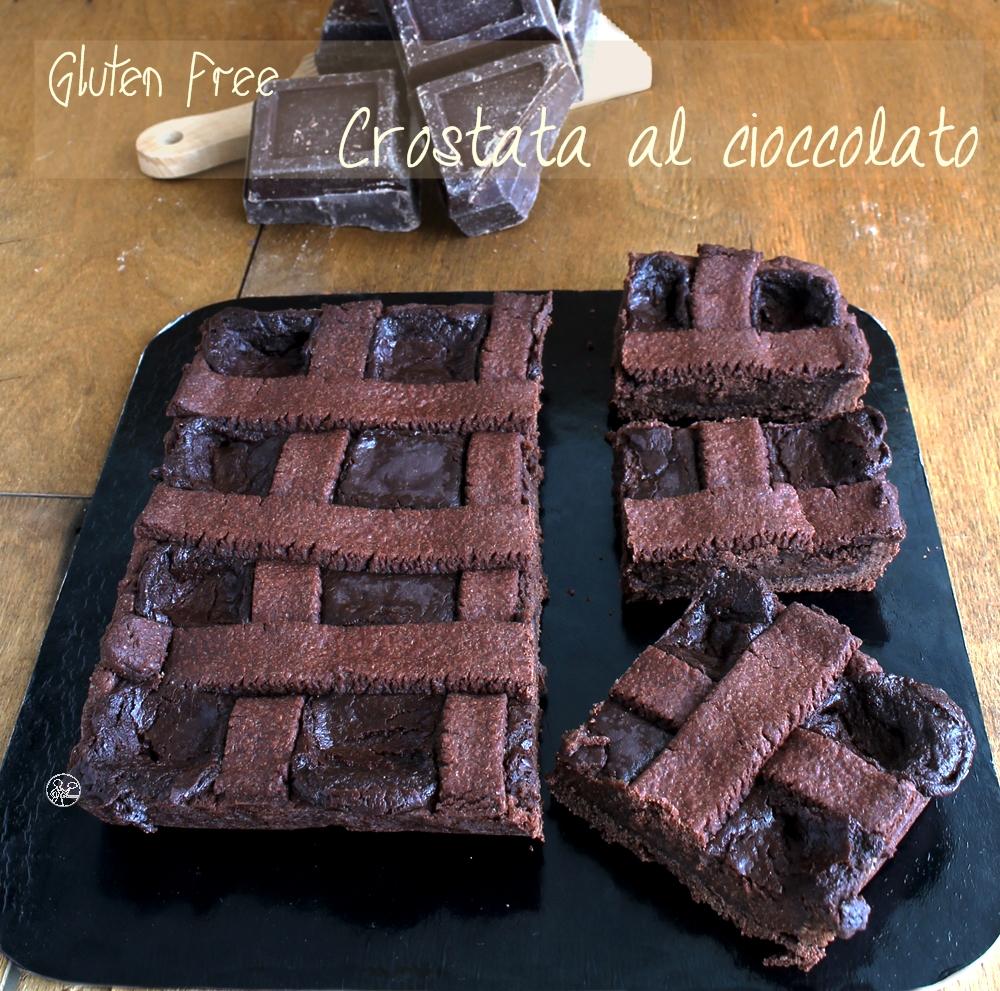 Crostata al cioccolato di Knam senza glutine - La Cassata Celiaca