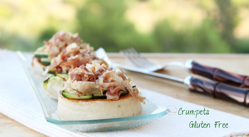 Crumpets sans gluten - La Cassata Celiaca
