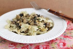 Farfalle ai funghi senza glutine - La Cassata Celiaca