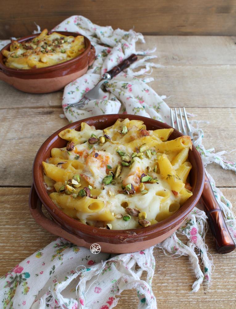 Gratin di pennette e zucca senza glutine - La Cassata Celiaca